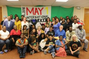 The May Day Alliance at May Day 2016.